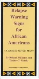 Cover of: Relapse Warning Signs for African Americans