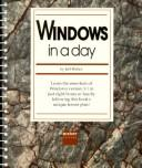 Cover of: Windows in a Day