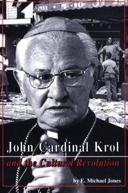 Cover of: John Cardinal Krol & the Cultural Revolution