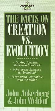 Cover of: The facts on creation vs. evolution