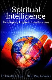 Cover of: Spiritual Intelligence: Developing Higher Consciousness