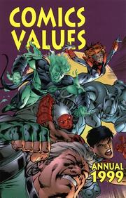 Cover of: Comic Values Annual 1999