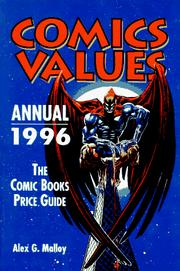 Cover of: Comics Values Annual 1996