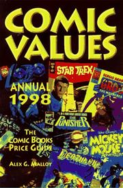 Cover of: Comics Values Annual 1998