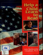 Cover of: Help a Child Learn to Read