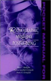 Cover of: Pocket Manual for Radiographic Anatomy and Positioning