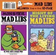 Cover of: Mad libs halloween 10-pack (Mad Libs)