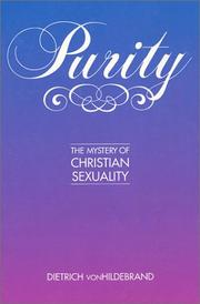 Cover of: Purity