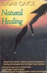 Cover of: Natural Healing (Edgar Cayce Library)