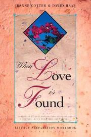 Cover of: When Love Is Found