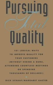 Cover of: Pursuing Total Quality