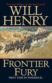 Cover of: Frontier Fury (Leisure Historical)
