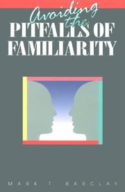 Cover of: Avoiding Pitfalls of Familiari: