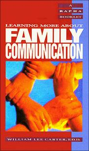 Cover of: Family Communication (Rapha Recovery Book Series)