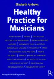 Cover of: Healthy Practice for Musicians