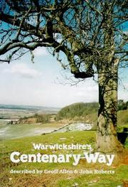 Cover of: Warwickshire's Centenary Way