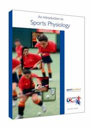 Cover of: An Introduction to Sports Physiology