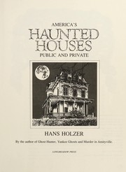 Cover of: America's haunted houses: public and private