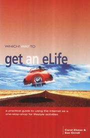 "Cover of: ""Which?"" Way to Get an E-life (""Which?"" Consumer Guides)"