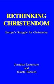 Cover of: Rethinking Christendom