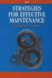 Cover of: Strategies for Effective Maintenance