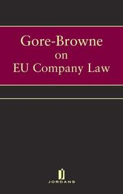 Cover of: Ec Company Law