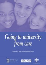 Cover of: Going to University from Care (Issues in Practice)