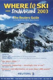 Cover of: Where to Ski and Snowboard 2003
