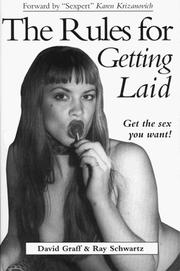 Cover of: The Rules for Getting Laid (The Rules for Life Series)