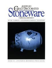 Cover of: America's Cobalt Decorated Stoneware