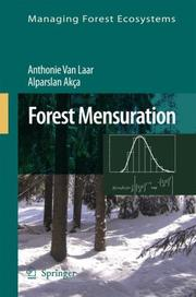 Cover of: Forest Mensuration (Managing Forest Ecosystems)