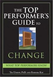 Cover of: The Top Performers Guide to Change (Top Performers Guides)