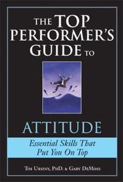 Cover of: The Top Performer's Guide to Attitude (Top Performers)