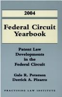 Cover of: 2004 Federal Circuit Yearbook