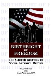 Cover of: Birthright of Freedom