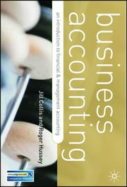 Cover of: Business Accounting
