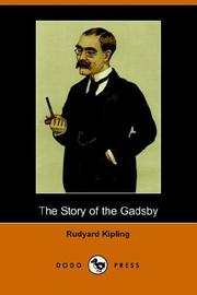 Cover of: Story of the Gadsby