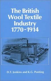 Cover of: British Wool & Textile Indstry