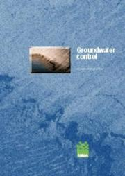 Cover of: Groundwater Control
