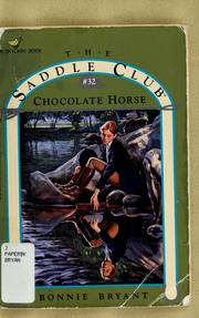 Cover of: Chocolate Horse