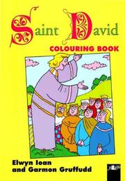 Cover of: Saint David Colouring Book