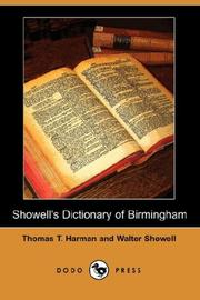 Cover of: Showell's Dictionary of Birmingham (Dodo Press)
