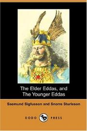 Cover of: The Elder Eddas, and The Younger Eddas