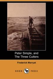 Cover of: Peter Simple, and The Three Cutters
