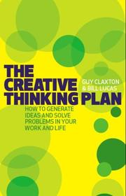 Cover of: The Creative Thinking Plan