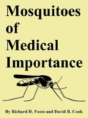Cover of: Mosquitoes of Medical Importance
