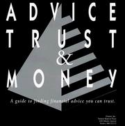Cover of: Advice Trust & Money