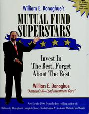 Cover of: William E. Donoghue's Mutual Fund Superstars