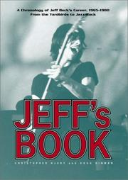 Cover of: Jeff's book : A chronology of Jeff Beck's career, 1965-1980