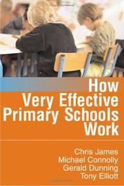 Cover of: How Very Effective Primary Schools Work (Published in association with the British Educational Leadership and Management Society)
